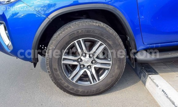 Buy Import Toyota Fortuner Blue Car in Import - Dubai in Kailahun