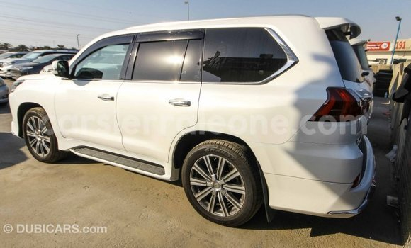 Buy Import Lexus LX White Car in Import - Dubai in Kailahun