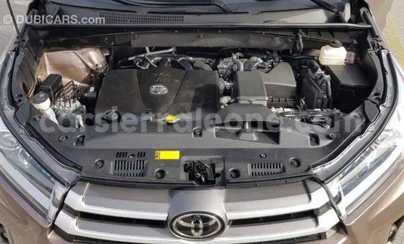 Buy Import Toyota Highlander Brown Car in Import - Dubai in Kailahun