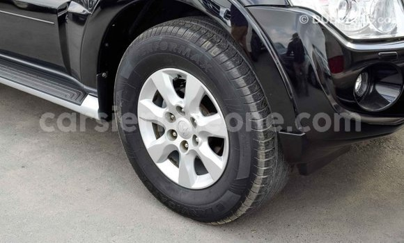 Buy Import Mitsubishi Pajero Black Car in Import - Dubai in Kailahun
