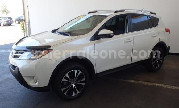 Buy Used Toyota RAV4 White Car in Freetown in Western Urban