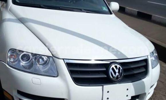 Buy Used Volkswagen Touareg White Car in Freetown in Western Urban