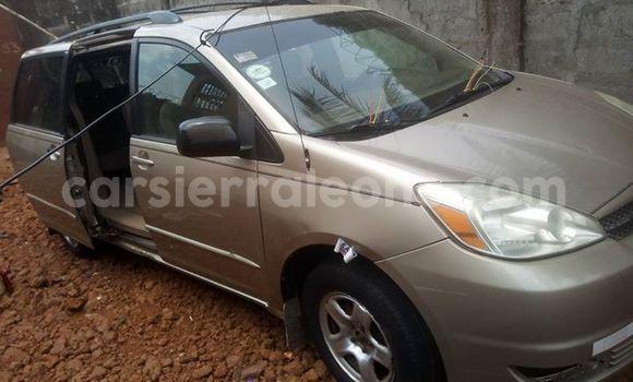 Buy Used Toyota Sienna Beige Car in Freetown in Western Urban