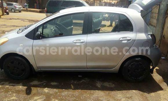 Buy Used Toyota Yaris Silver Car in Freetown in Western Urban
