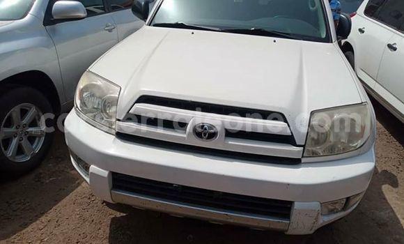 Buy Used Toyota 4Runner White Car in Freetown in Western Urban