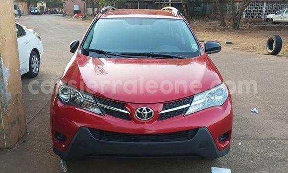 Buy Used Toyota RAV4 Red Car in Freetown in Western Urban