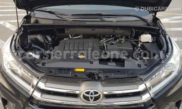 Buy Import Toyota Highlander Black Car in Import - Dubai in Kailahun