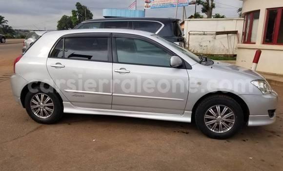 Buy Used Toyota Corolla Silver Car in Freetown in Western Urban
