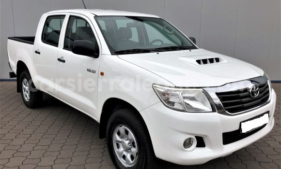Buy Import Toyota Hilux Surf White Car in Freetown in Western Urban