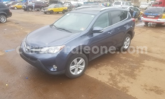 Buy Used Toyota RAV4 Blue Car in Freetown in Western Urban