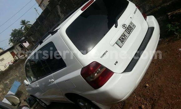Buy Used Toyota Highlander White Car in Freetown in Western Urban