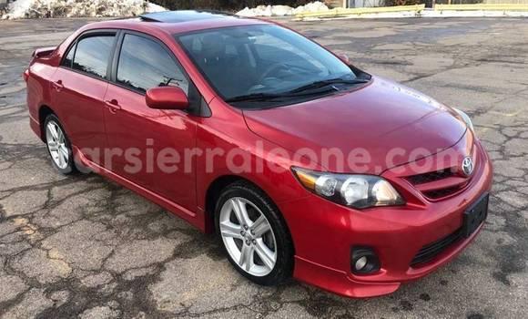 Buy Used Toyota Corolla Red Car in Freetown in Western Urban