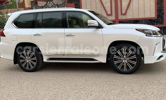 best service e997a befed Buy Used Lexus LX 570 White Car in Freetown in Western Urban