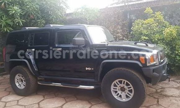 Buy Used Hummer H3 Black Car in Freetown in Western Urban