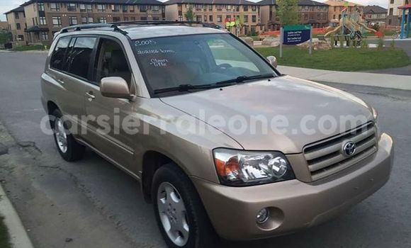 Buy Used Toyota Highlander Other Car in Segbwema in Kailahun