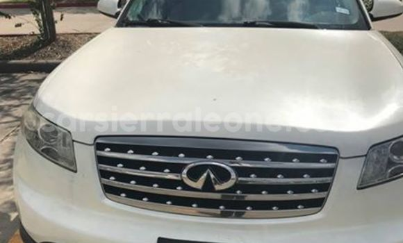 Buy Used Infiniti FX-Series White Car in Segbwema in Kailahun
