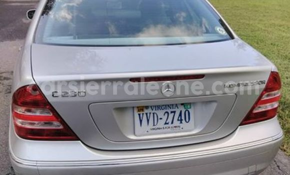 Buy Used Mercedes Benz E-Class Silver Car in Segbwema in Kailahun