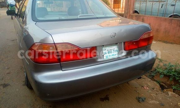 Buy Used Honda Accord Silver Car in Segbwema in Kailahun