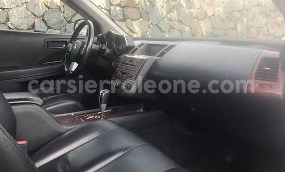 Buy Used Nissan Murano Silver Car in Segbwema in Kailahun