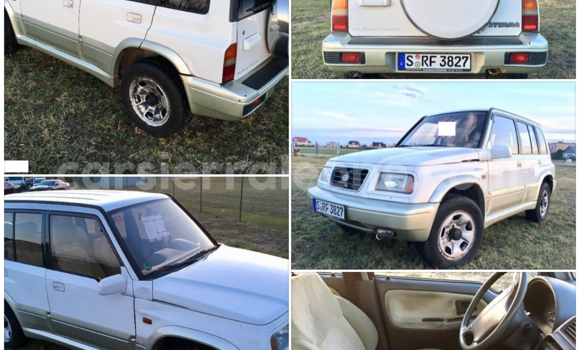 Buy Used Suzuki Grand Vitara White Car in Freetown in Western Urban