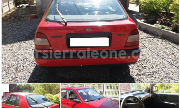 Buy Used Nissan Sunny Red Car in Freetown in Western Urban