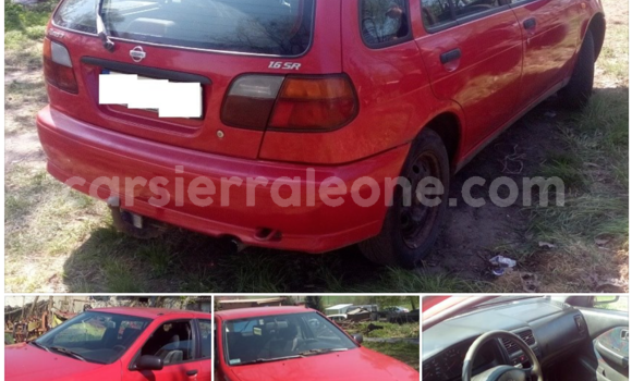 Buy Used Nissan Almera Red Car in Freetown in Western Urban