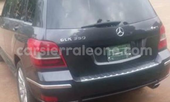 Buy Used Mercedes Benz GLK–Class Black Car in Freetown in Western Urban