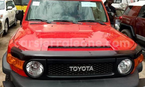 Buy Used Toyota FJ Cruiser Red Car in Freetown in Western Urban