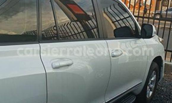 Buy Used Toyota Land Cruiser Prado White Car in Freetown in Western Urban