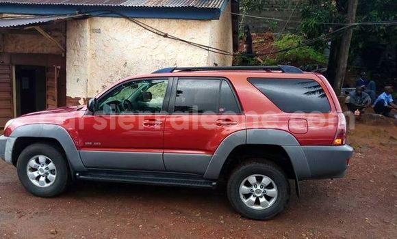 Buy Used Toyota 4Runner Red Car in Freetown in Western Urban