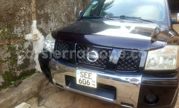 Buy Used Nissan Navara Black Car in Freetown in Western Urban