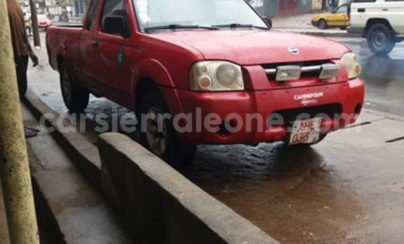 Buy Used Nissan Frontier Red Car in Freetown in Western Urban