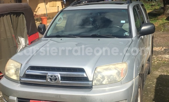 Buy Used Toyota 4Runner Silver Car in Freetown in Western Urban
