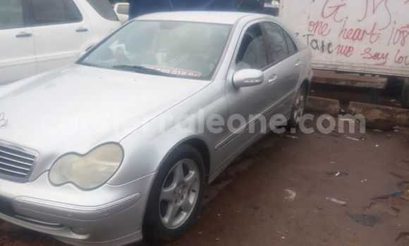 Buy Used Mercedes Benz C–Class Silver Car in Freetown in Western Urban