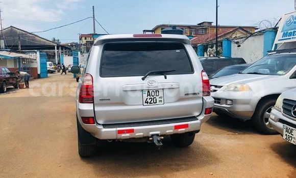 Buy Imported Toyota Hilux Surf Silver Car in Freetown in Western Urban