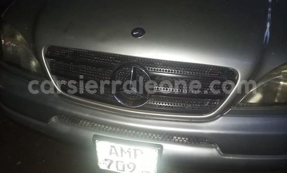 Buy Imported Mercedes Benz ML–Class Silver Car in Freetown in Western Urban