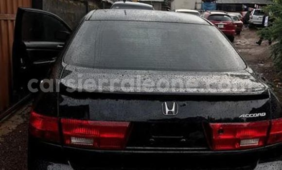 Buy Imported Honda Accord Black Car in Freetown in Western Urban