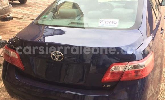 Buy Used Toyota Camry Blue Car in Freetown in Western Urban
