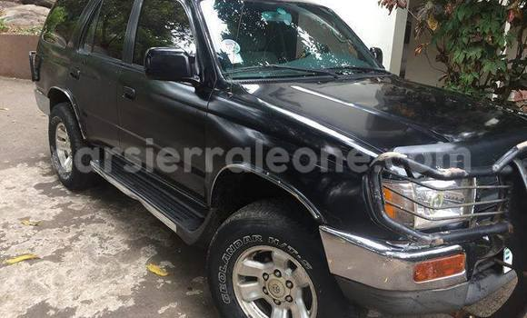 Buy Used Toyota 4Runner Black Car in Freetown in Western Urban