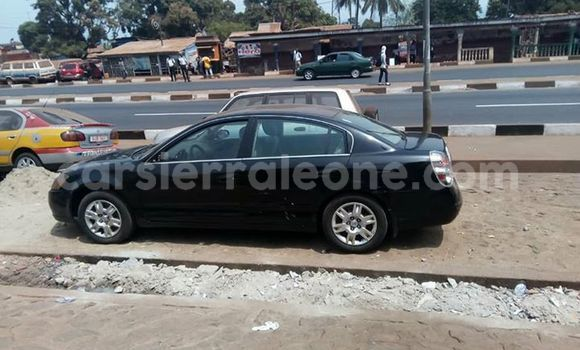 Buy Used Nissan Altima Black Car in Freetown in Western Urban