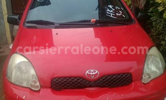 Buy Used Toyota Echo Red Car in Freetown in Western Urban