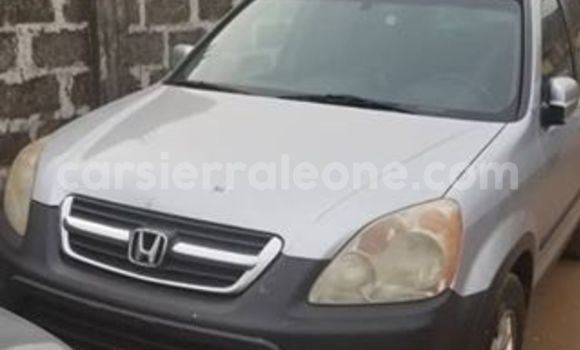 Buy Used Honda CR-V Silver Car in Freetown in Western Urban