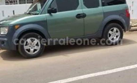 Buy Used Honda Element Green Car in Freetown in Western Urban