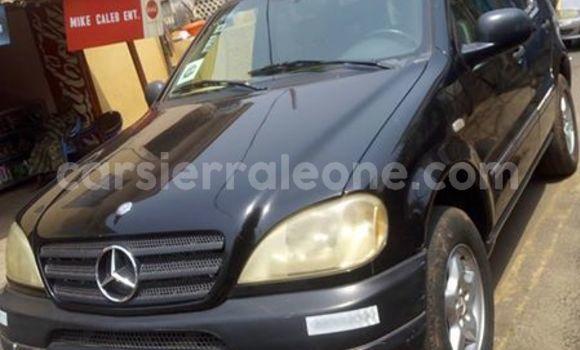 Buy Used Mercedes‒Benz ML–Class Black Car in Freetown in Western Urban