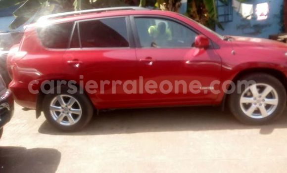 Buy Used Toyota RAV4 Red Car in Freetown in Western Urban