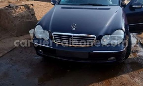 Buy Used Mercedes Benz C–Class Blue Car in Freetown in Western Urban