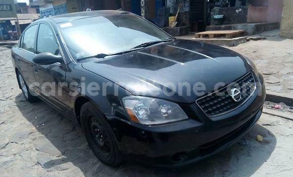 Buy Used Nissan Altima Black Car in Freetown in Western Urban