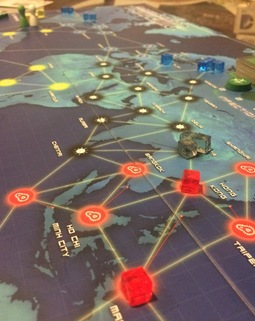 Thumb pandemic board game